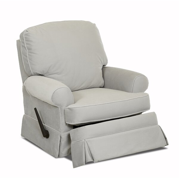 Bingham Swivel Glider Recliner by Wayfair Custom Upholstery™
