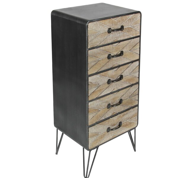 Johnny 5 Drawer Chest by Langley Street