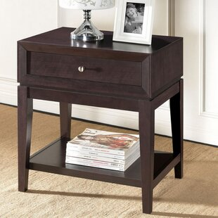 Inexpensive Pesina Modern 1 Drawer Nightstand By George Oliver
