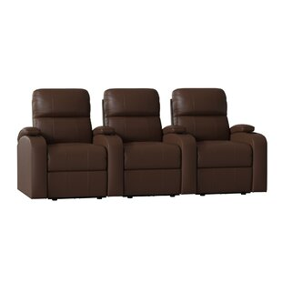 Edge XL800 Home Theater Lounger (Row of 3) by Octane Seating