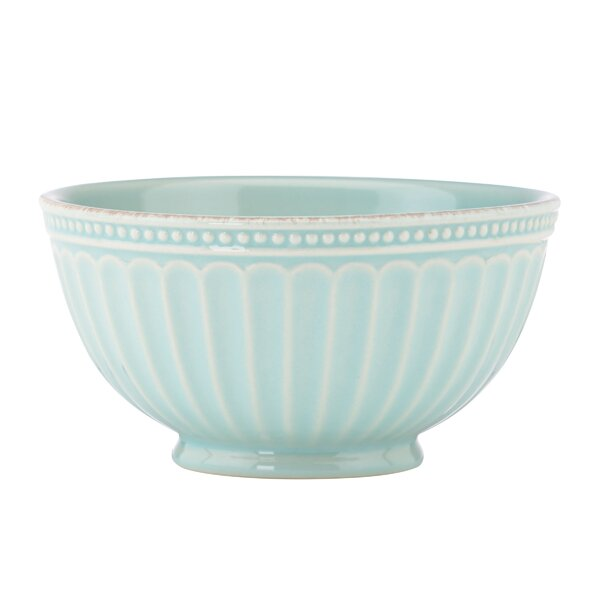French Perle Groove 24 oz. Rice Bowl by Lenox