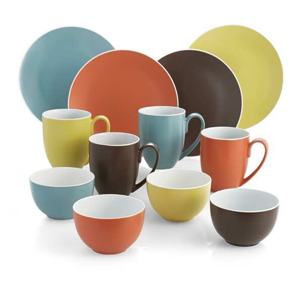 Pop 12 Piece Dinnerware Set, Service For 4 by Nambe