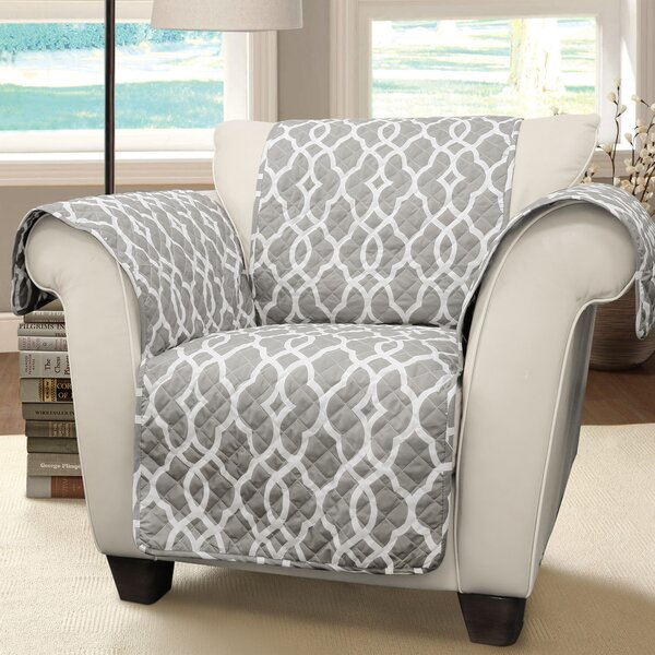 Geo T-Cushion Armchair Slipcover By Charlton Home