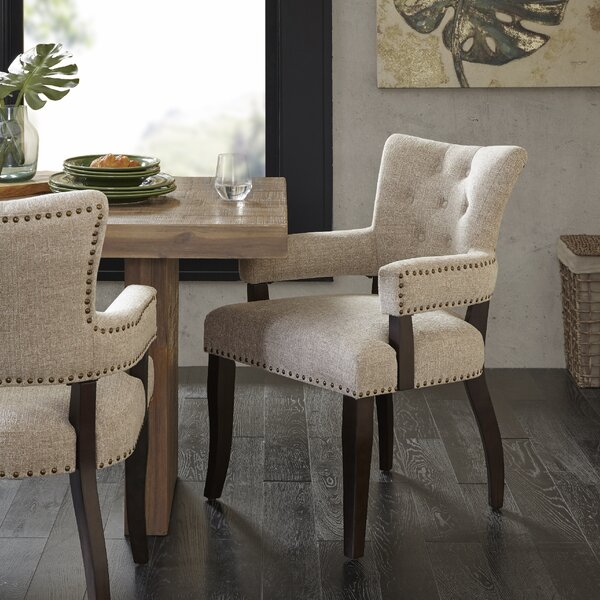 Idabel Upholstered Dining Chair (Set of 2) by Laurel Foundry Modern Farmhouse