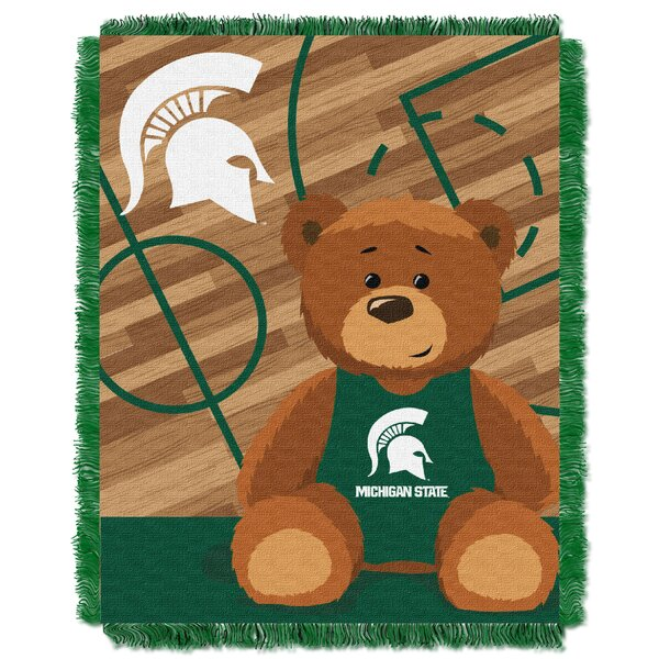 Collegiate Michigan State Baby Throw by Northwest Co.