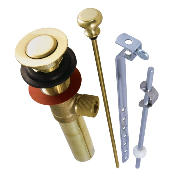 Gauge Pop-Up Tub Drain by Kingston Brass