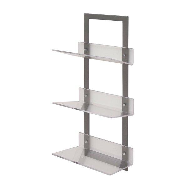 Metal/Acrylic Floating Shelf by Cole & Grey