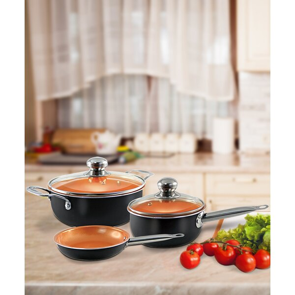 5 Piece Non-Stick Cookware Set by Volar Ideas