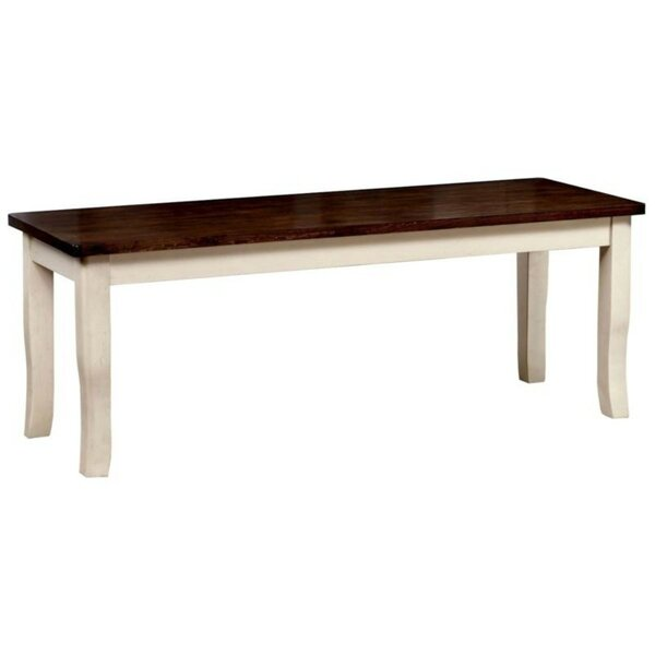 Mooney Wood Bench by Winston Porter