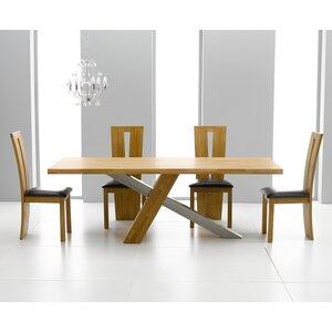 Essgruppe Ohio mit 4 Stühlen von Home Etc