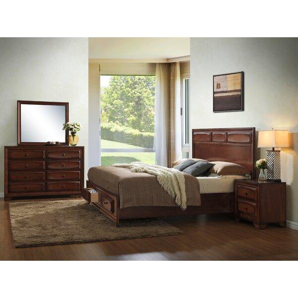 Beagan Platform Solid Wood 4 Piece Bedroom Set by Winston Porter