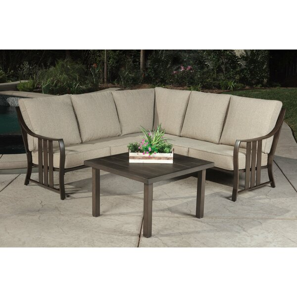 Altoona Slatted Back 2 Piece Multiple Chairs Seating Group with Cushions by Alcott Hill
