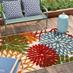 Reuben Red Indoor/Outdoor Area Rug