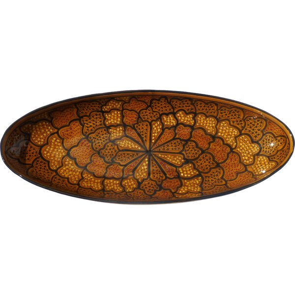 Honey Design Oval Platter by Le Souk Ceramique