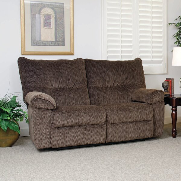Double Reclining Loveseat by Serta Upholstery Serta Upholstery