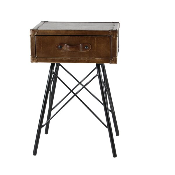 Lafrance End Table by Williston Forge