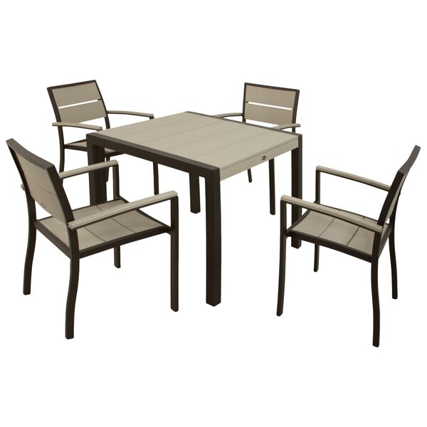 Trex Outdoor Surf City 5 Piece Dining Set by Trex Outdoor