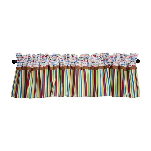 Dr. Seuss Alphabet Seuss 82 Curtain Valance by Tre
