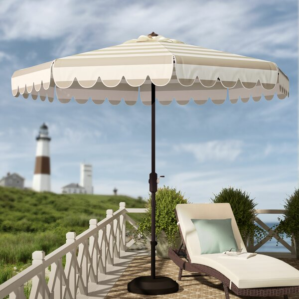 Lambeth 8.5 Market Umbrella By Beachcrest Home by Beachcrest Home Great Reviews