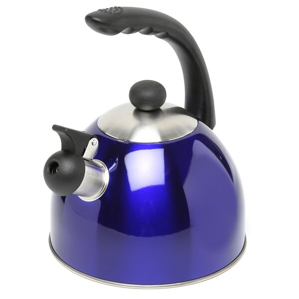 Rhapsody 2.1 Qt. Whistle Tea Kettle by Creative Home