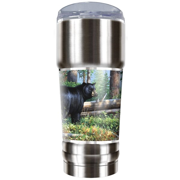 Black Bear Traditions 32 oz. Stainless Steel Travel Tumbler by Great American Products