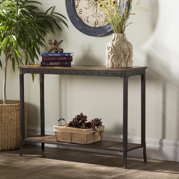 Lucia 2 Tier Rectangle Console Table by Trent Austin Design