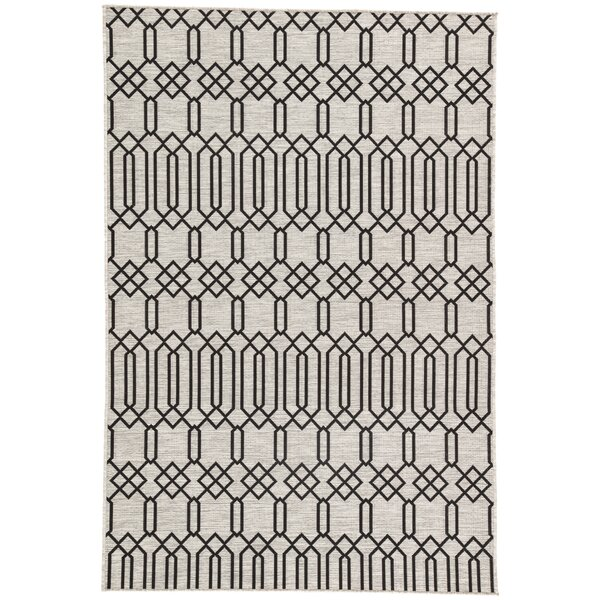 Wall Street Moonstruck Indoor/Outdoor Area Rug by George Oliver