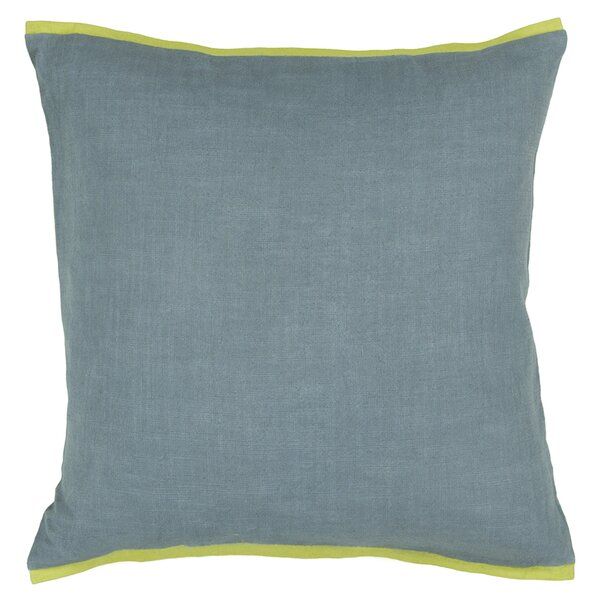 Oranda Textured Contemporary Throw Pillow by Rosecliff Heights