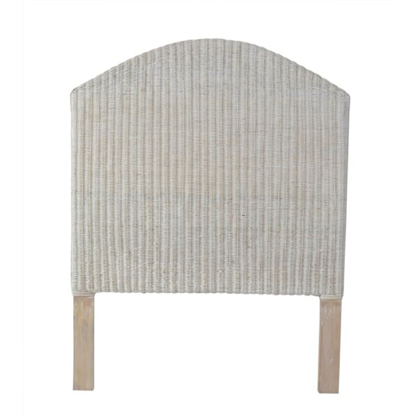 Bostwick Upholstered Panel Headboard by Bay Isle Home