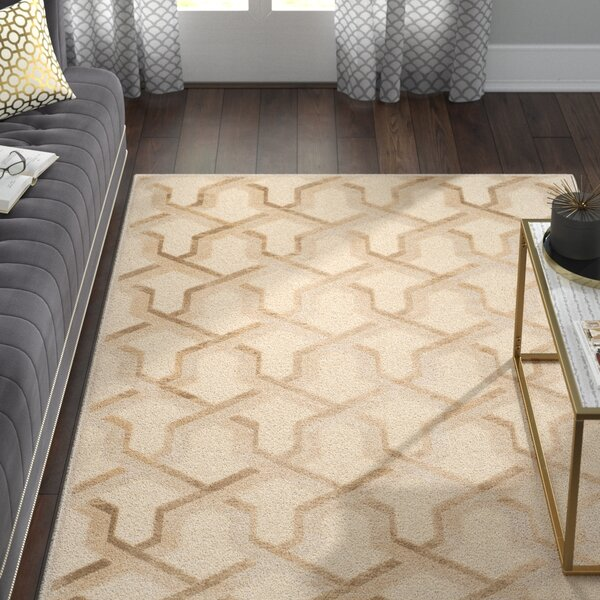 Maspeth Beige Area Rug by Willa Arlo Interiors