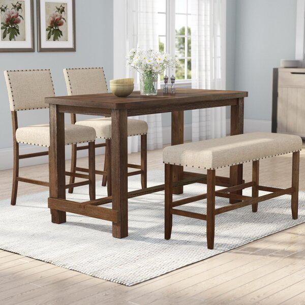Orth 4 Piece Dining Set by Gracie Oaks