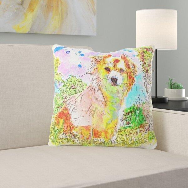 Vannote Dog Throw Pillow