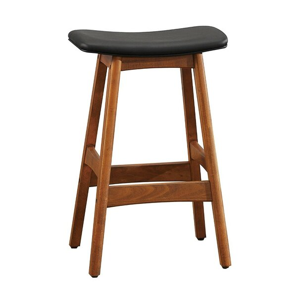 Winford Wooden Counter Height 25.25 Bar Stool by Loon Peak