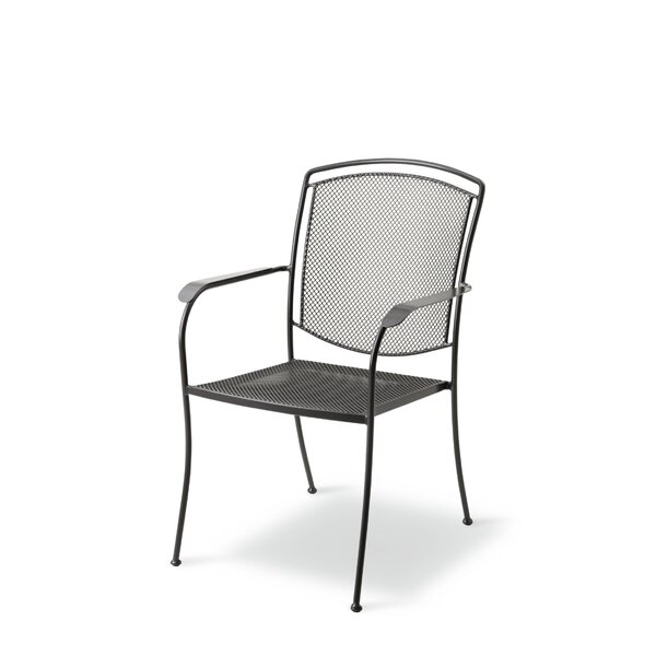 Croce Stacking Patio Dining Chair by Red Barrel Studio