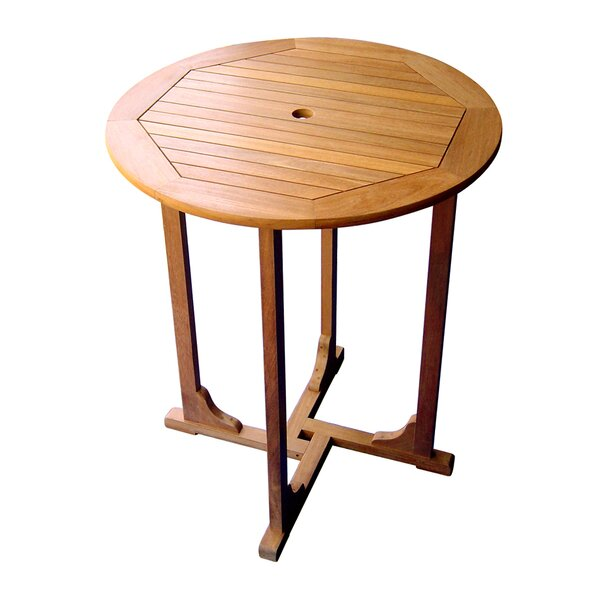 "Sabbattus 36"" Bar Table by Breakwater Bay"