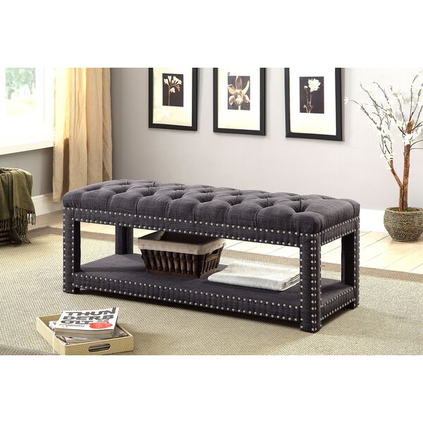 Ewald Upholstered Storage Bench by Darby Home Co Darby Home Co