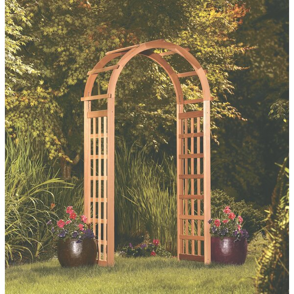 Gantz Wooden Arbor with Bench by Bloomsbury Market
