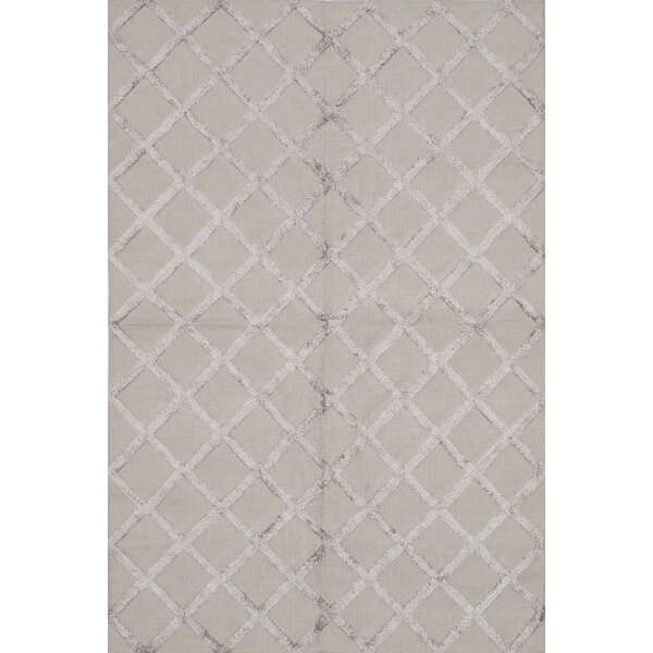 Bonefield Kilim Dark Khaki Area Rug by Rosdorf Park