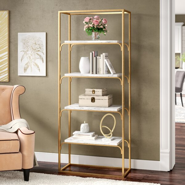 Ny 4 Tier Etagere Bookcase by Everly Quinn