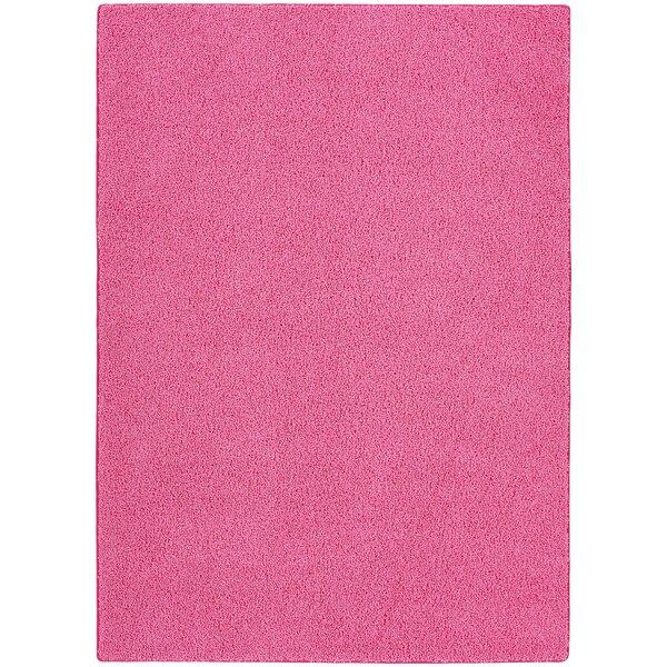 Beldale Pink Area Rug by Ebern Designs