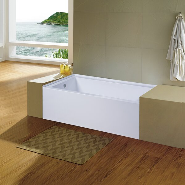 Avalon 30 x 60 Alcove Soaking Bathtub by Dyconn Faucet
