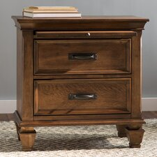 Dorrington 2 Drawer Nightstand by Beachcrest Home