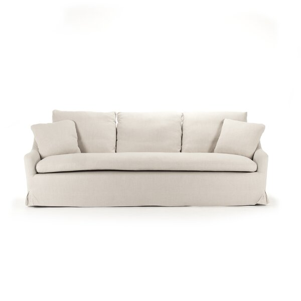 Rich Box Cushion Sofa Slipcover by Zentique