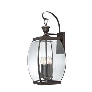 Bargain Vieux 4-Light Outdoor Wall Lantern By Lark Manor