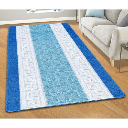 Tufted Blue Indoor/Outdoor Rug Symple Stuff Rug Size: Runner