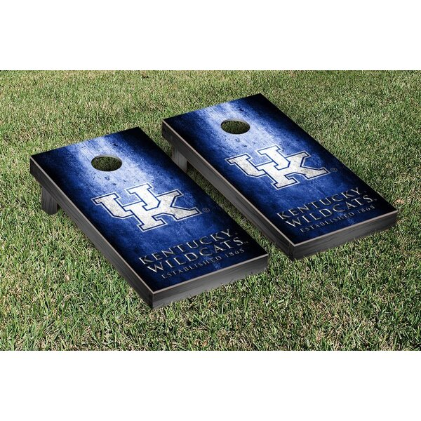 NCAA Metal Version Cornhole Game Set by Victory Tailgate