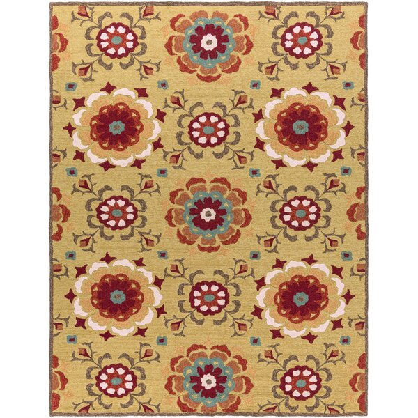 Natalia Terra Hand-Woven Indoor/Outdoor Area Rug by Birch Lane™
