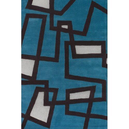 Stickel Blue/White Area Rug by Latitude Run