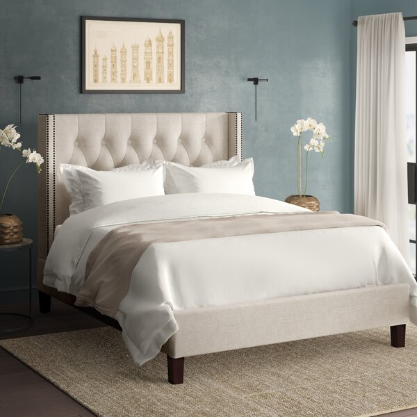 Scottsville Queen Upholstered Platform Bed by Greyleigh