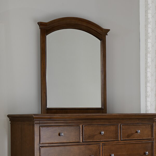 Javin Traditional Arched Dresser Mirror by Harriet Bee